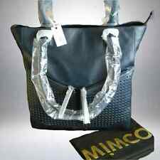 MIMCO THE M TOTE LEATHER BAG in INK BLUE now very rare rrp$499