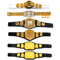 WWE World Heavyweight Tag Team Million Dollar Champion Title Belt Kid Toy Figure