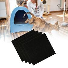 4pcs/set Cat Litter Boxes Filter for Cat Litter Boxes Pans Odor Removing