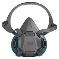 3M™ 6503 / 49491 Rugged Comfort Half Facepiece Reusable Respirator, USA, Large