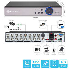 1080N 16CH 5in1 Motion Email P2P DVR 1500TVL CCTV Security Video Recorder NO HDD