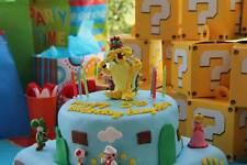 Handmade Bowser Cake Topper Birthday Mario Personalized Birthday Collectible