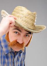 Da Uomo Western Paglia Cappello Da Cowboy