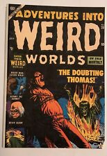 Atlas ADVENTURES into WEIRD WORLDS #20 1953 coverless w/ copied cover & repairs