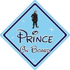 Disney Prince On Board Car Sign – Baby On Board – Frozen Kristoff