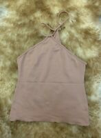 Lilly beige Camisole Top sleepwear nightwear size S