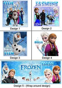 Personalised Frozen Mug - Any Name - Many Designs - Gift Idea - Anna, Elsa, Olaf