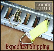 32pcs E Track Package Enclosed Trailer Van Cargo Hauler Truck Tie Off Fitting