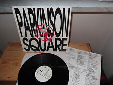 """PARKINSON SQUARE """"Square Up!"""" LP HOULALA FRANCE 1990 - INSERT"""