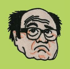 Danny DeVito Easy Iron On Patch Sew TAXI Twins Always Sunny in Philadelphia Vito