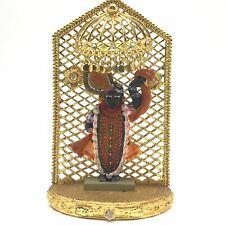 "Handcrafted India God Krishna Shrinathji Shreenathji Statue Idol Figure 5"""