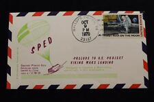 SPACE COVER 1970 HAND CANCEL SPED VEHICLE LAUNCH PROJ VIKING  ANDROMEDA #18 (986