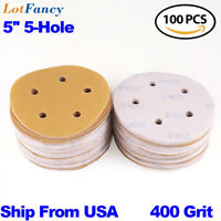 5 inch 5 holes Sanding Discs Orbit Sander Pad Backing Hook Loop for Porter Cable