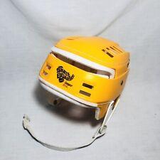 Vintage Cooper SKB SK100 Skateboard Hockey Hurling Helmet Yellow RARE HTF