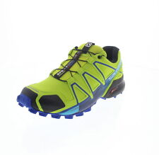 Scarpe da ginnastica da uomo verdi casual marca Salomon