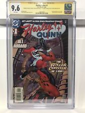 Harley Quinn 1 2000 CGC 9.6 Signed 4x Bruce Timm Paul Dini Terry Dodson NM+