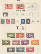 SENEGAL  INTERESTING COLLECTION ON ALBUM PAGES - Y347 #2