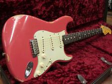 Fender Custom Shop 1961 Stratocaster Relic Fiesta Red Used  FREE Shipping