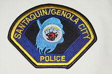 US Santaquin Genola City Utah Police Patch