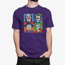Funny JOKER DC Comics Villain Batman's Enemy Men's T-shirt