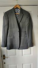Ted Baker Modern Fit Grey Blazer Jacket Size 38 *VGC*