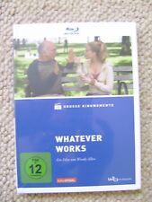 Blu-ray      Whatever Works      Woody Allen     NEU + VERSCHWEISST