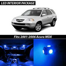 2001-2006 Acura MDX Blue Interior LED Lights Package Kit