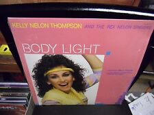 Kelly Nelon Thompson Body Light LP 1984 Canaan Records IN Shrink + poster VG+