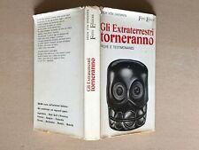 Erich von Daniken - GLI EXTRATERRESTRI TORNERANNO - 1a ediz. Ferro 1969 daeniken
