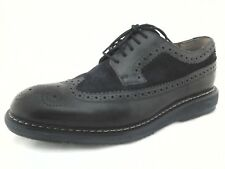 Clarks Kenley Men's Wing Tip  Oxford Shoes Black Navy Extralight US 10.5 EU 44