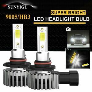 2X Ampoule 9005 HB3 LED Voiture Feux Phare Lampe Remplacer HID Xénon 6000K Blanc