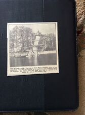 d1-1 ephemera 1935 swindon picture diving stage coaste water scaffold