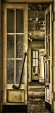 Türtapete Schwungtür Türposter   selbstklebend Verlassen Ruine Lost Place 1120