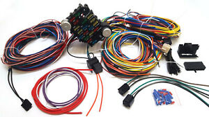 1932 Ford Car Pickup Truck 21 Circuit Wiring Harness Wire Kit NEW Model B