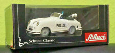 Schuco Classic Sport Examico Polizei Art. Nr. 01372 Car Western Germany Box Key