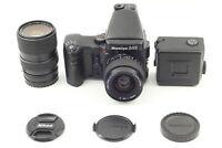 [Near MINT] Mamiya 645 Pro AE Finder 45mm + 55-110mm f4.5 Film Camera From JAPAN