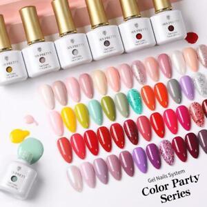 BORN PRETTY 88 Farben Gel Nagellack Soak Off UV Gel Lack Basis Super Top Coat