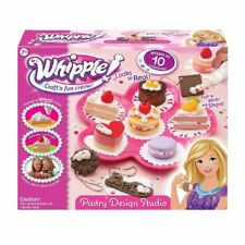 Whipple Pastry Design Studio Craft 2010 Set Pretend Cooking Cake Toy 10 Creation