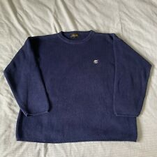 Timberland Boys Navy Knit Jumper Age 16 Years Excellent Condition