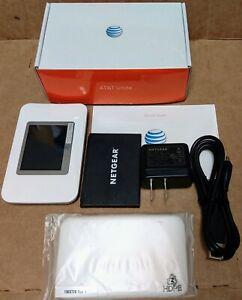 Netgear Unite Aircard AC770S 4G LTE AT&T - White Hotspot Mobile WI-FI Modem