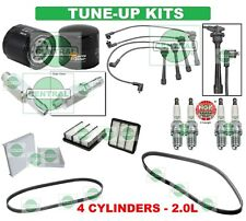 TUNE UP KITS 07-12 ELANTRA: SPARK PLUGS, WIRE SET, BELTS & FILTERS