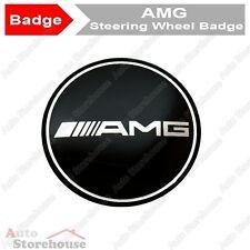 Mercedes AMG Steering Wheel Badge Emblem - A B C CLK CLS E G M ML S SLK Class