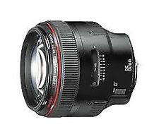 Canon EF 1,2/85mm l USM II tele objetivamente/Canon EF 85mm 1:1.2l