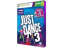 Just Dance 3 Xbox 360 Kinect Game Complete! Tested! Working Excellent Condition