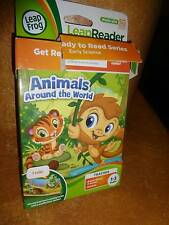 Leap Frog Leap Reader Junior Toddler Early Science Animals Around the World Book