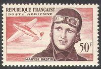 France 1955 M Bastie/Planes/Aircraft/Aviation/Transport/Pilots/People  1v n33851