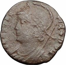 Constantine I The Great founds Constantinople Ancient Roman Coin Soldier i32500