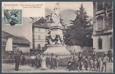 VERBANIA DOMODOSSOLA 53 OSSOLA - MONUMENTO G. G. GALETTI Cartolina