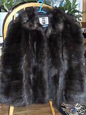 Beaver Fur Coat Hudson Bay #c7
