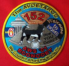 United States Coast Guard patch The avdetarod 152 Nome Ak 5 inch diameter